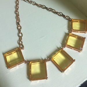 baublebar Jewelry - Blush/rose gold statement necklace