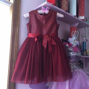 Mini Poppy Deep Red Dress!!