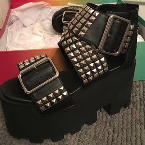 b9218ed6f4cd current mood Shoes - Current Mood Summer Punx Platforms