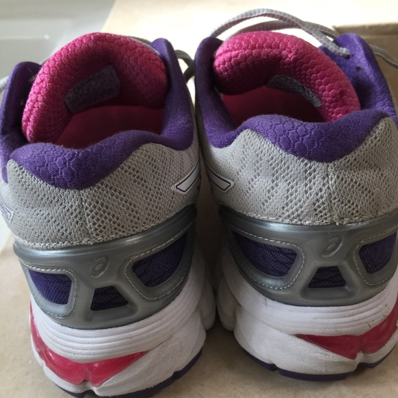 asics gel nimbus 10 femme violet