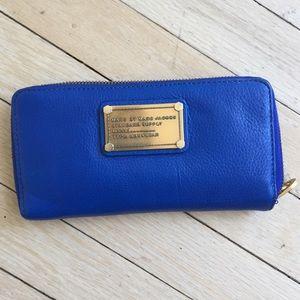 Marc Jacobs Cobalt Blue Wallet