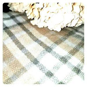 Accessories - Plaid Blanket Scarf