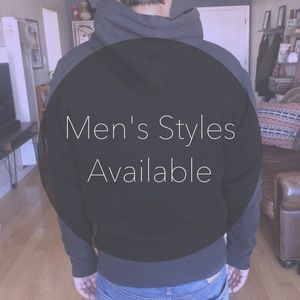Men's styles available!