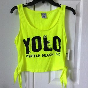 Tops - Myrtle beach cropped tank top
