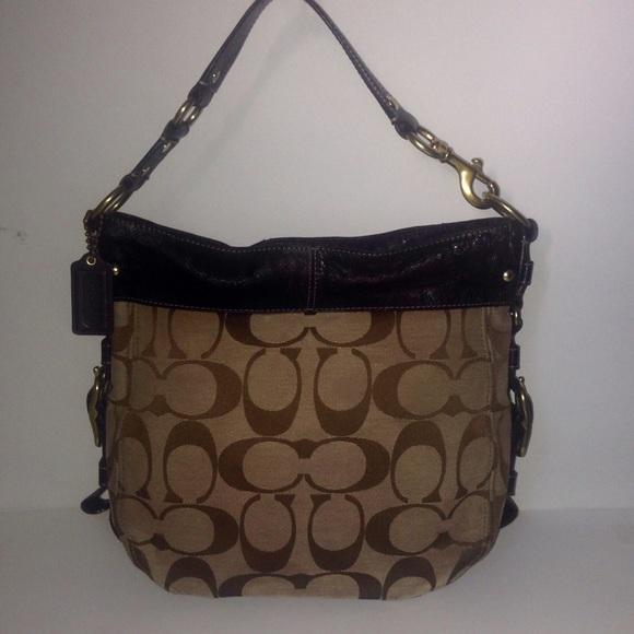 da588f4721 Coach Handbags - BLACK FRIDAY SALE Coach Zoe Hobo Bag 12674