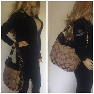 966310c07c Coach Bags - BLACK FRIDAY SALE Coach Zoe Hobo Bag 12674