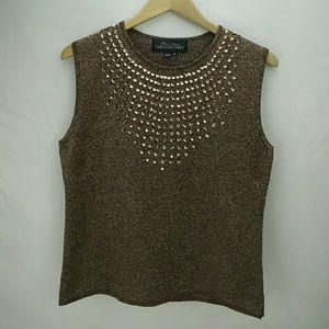 Fabulous Furs Tops - Donna Salyer's Fabulous Furs glitter top