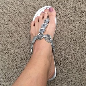 Super cute bling sandals