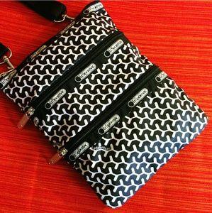 LeSportsac Handbags - LeSportsac Crossbody Abstract Print Bag