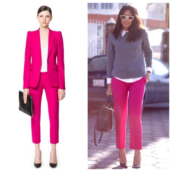 Matchless hot pink pants does not