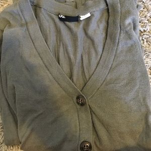 Urban outfitters green cardigan with buttons
