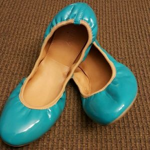 J. Crew Factory Shoes - J. Crew Factory Patent Leather Ballet Flats