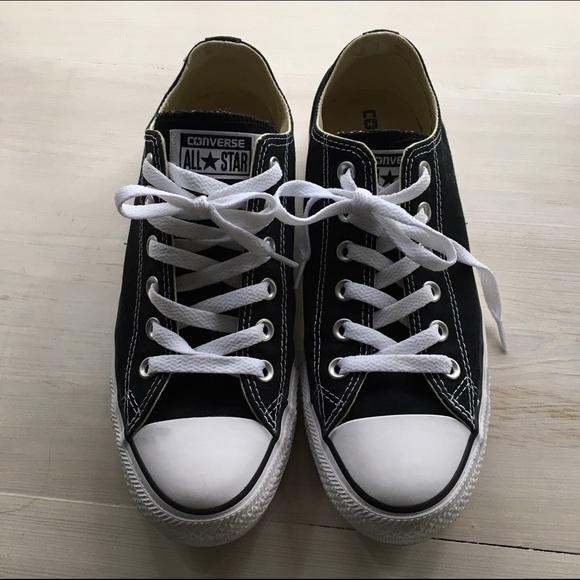 b715ad069d67 Converse Shoes - 🎉FLASH SALE🎉Original Black Converse Women SZ 8.5