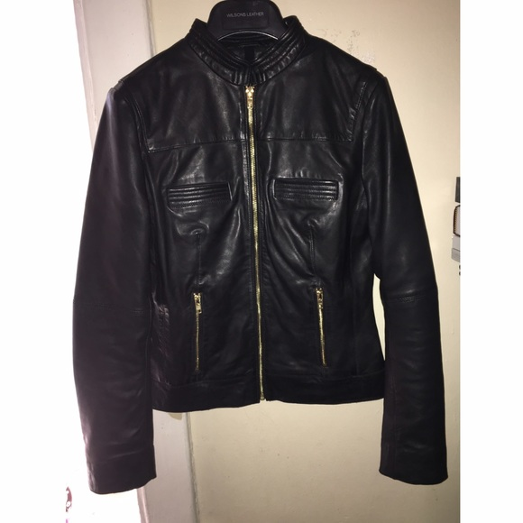 90% off Black Rivet Jackets & Blazers - From Wilson Leather, gold ...