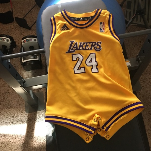 6fc74b610d2 Adidas Other - Kobe Bryant Lakers romper