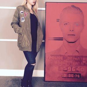 Sadie & Sage Jackets & Blazers - Bad A$$ BOmBer Jacket