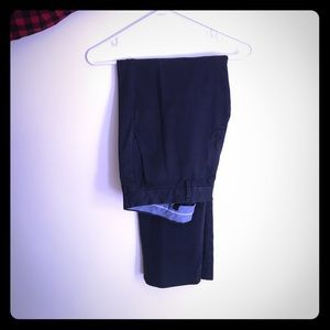 Size 33/32 navy blue men's dress pants!