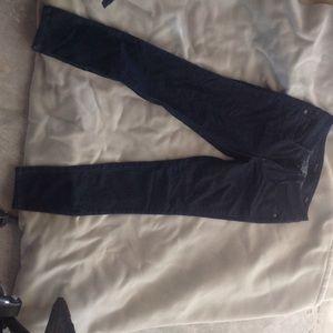 Bebe dark blue skinny jeans