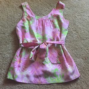 Lilly Pulitzer Tops - Lilly Pulitzer  silk top