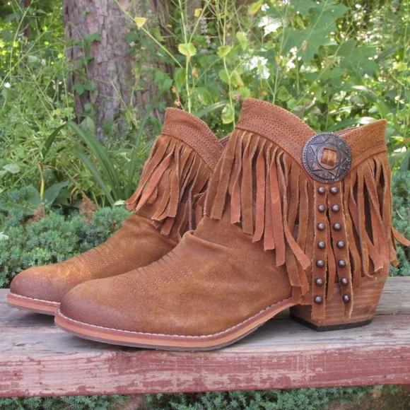 1ad1102e97daf SALE🎉Sam Edelman Sidney fringe ankle boots. M 57fbf4392599fe4779010c5b