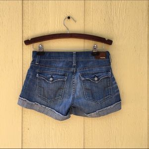 Fossil Pants - 💕 FOSSIL Denim Blue Jean Boyfriend Shorts