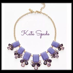 kate spade lilac Glitz Spritz purple necklace