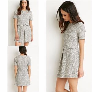 Forever 21 Dresses & Skirts - Forever 21 :: Fit & Flare Dress :: Gray