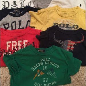 Designed polo tshirt lot