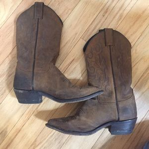 Justin Boots Shoes - Justin Leather Cowboy Boots