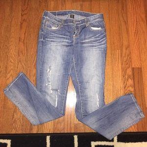 Ariya Denim - Ariya Destroyed Skinny Jeans