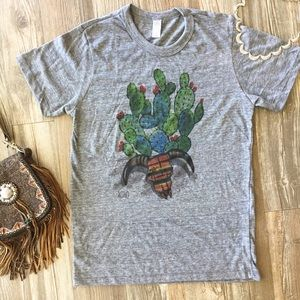 Free People Tops - 🌵The Prickly Bloomer tee🌵
