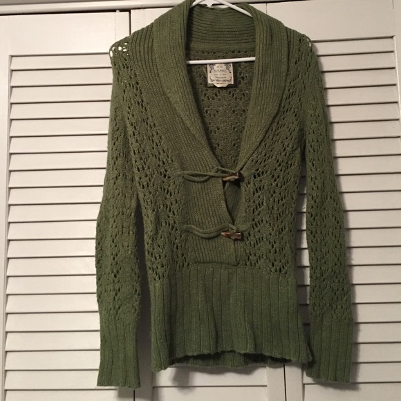 73% off Old Navy Sweaters - Size small green sweater. Old navy ...