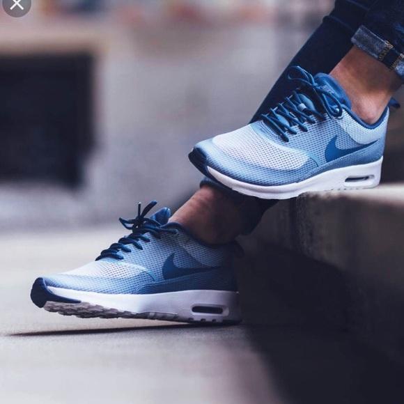 639c45b776e Nike Shoes | Airmax Thea Bluegreyocean Fog Sneakers | Poshmark