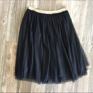 🎀Black Tulle Skirt🎀