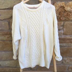 Callahan Sweaters - Callahan cable knit sweater