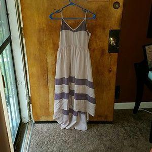 Forever 21 S HI Low Lavender Dress