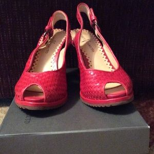 Vince Camuto Woven Wedges