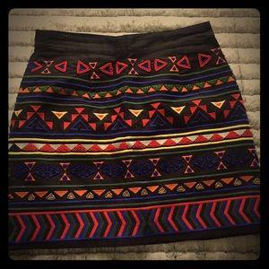 Sam Edelman mini skirt with beaded work