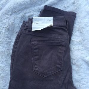 LOFT Denim - LOFT Curvy Skinny Gray Jeans *1 Day Sale