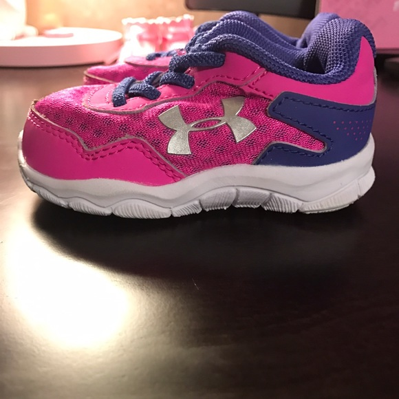 baby under armour sneakers
