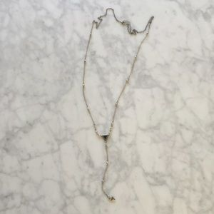 Free People Geo Necklace