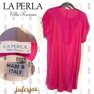 La Perla Other - LA PERLA hot pink nightgown