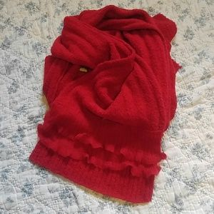 NWT Red scarf