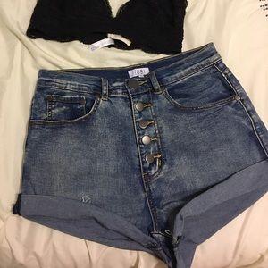ASOS Pants - PRICE DROP NWOT TOBI high rise shorts
