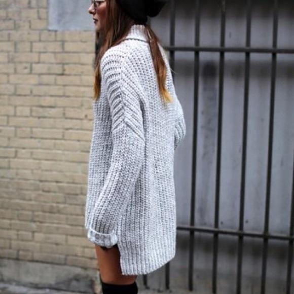 Zara - SOLD!!! ZARA- Oversized Knit Sweater from Annika's closet ...