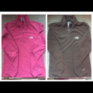 North Face TKA 100 Women's 1/4 Zip Pull Over