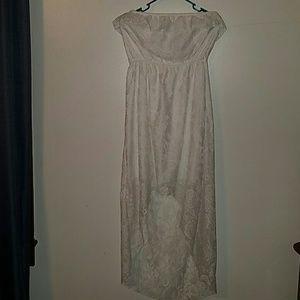Trixxi Dresses & Skirts - Lacy white dress