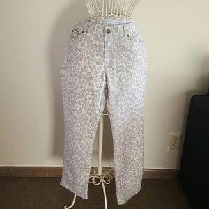 Chico's Platinum Denim Jeans