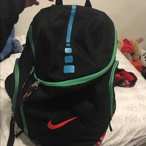 nike nike elite mint green backpack from shelbies