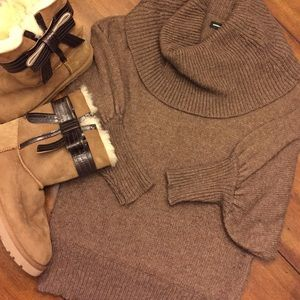 Express Sweaters - Express Cowl Neck Sweater